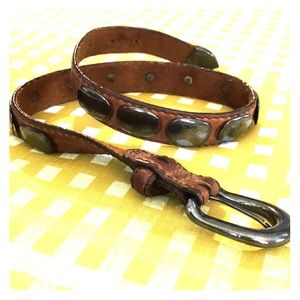 2 for $20 Genuine leather vintage western belt